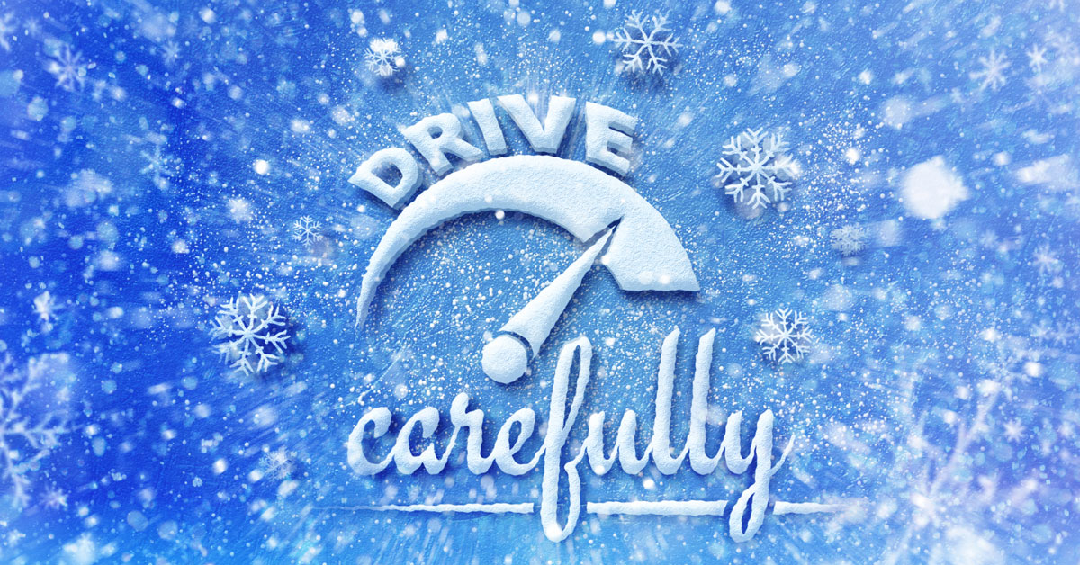 Still alot of winter left so keep these things in mind while driving